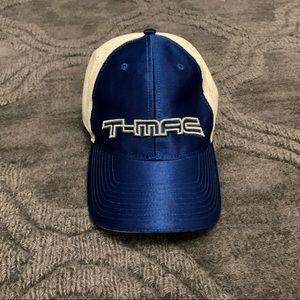 T-Mac Adidas Blue Hat Sz 7 3/8 Tracy McGrady RARE